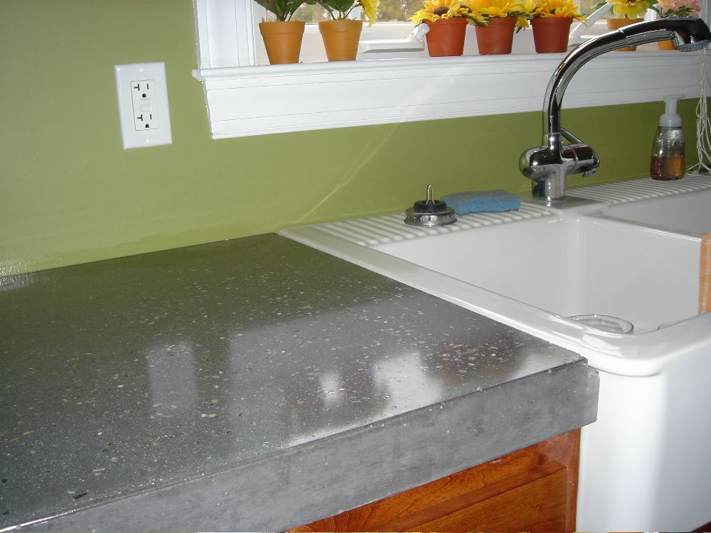Concrete Countertops : Polished Concrete Countertops Decorative Concrete of Virginia (VA)