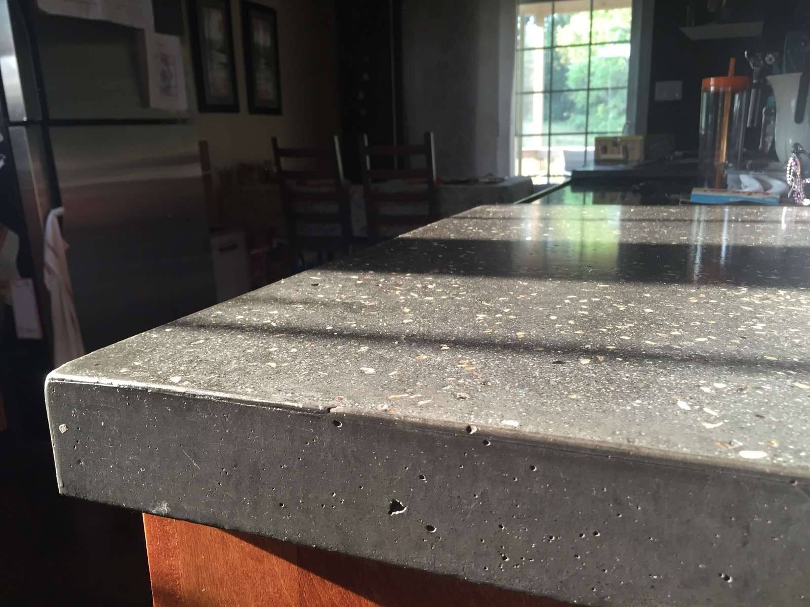 Light Colored Concrete Countertops Let It Shine