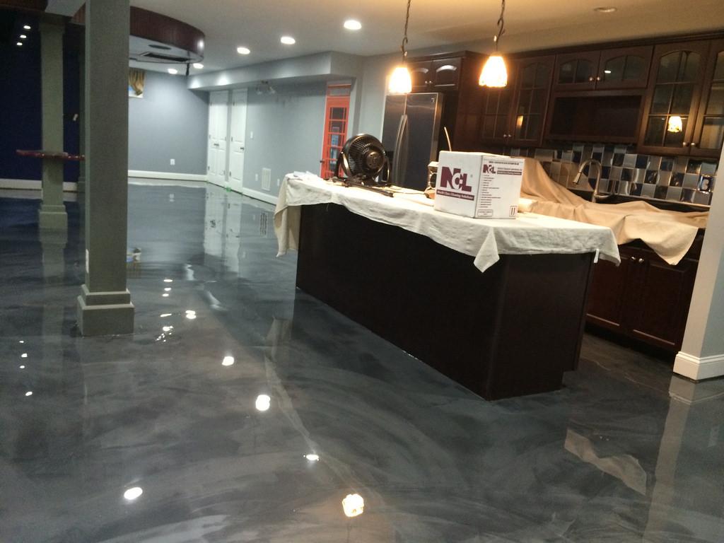 Garage Office Ideas Concrete Floors