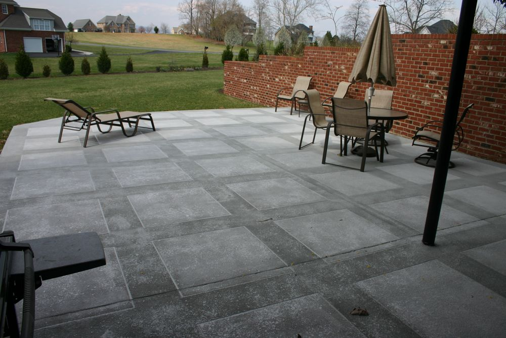 Attractive ... Stamped Concrete; Troweled Concrete Overlays. IMG_0825