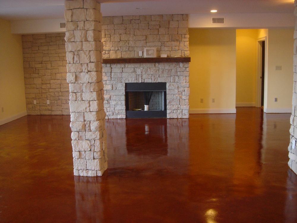 Stained Concrete Virginia Acid Stain Staining Decorative Of