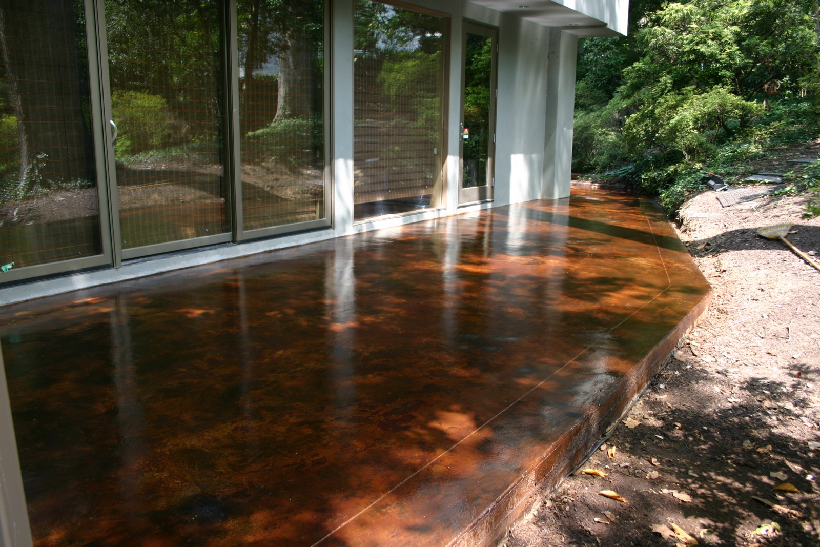 Stained Concrete Virginia Acid Stain Virginia Concrete Staining