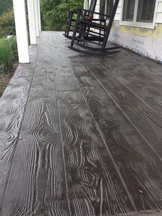 Stamped Concrete Overlay Concrete Restoration
