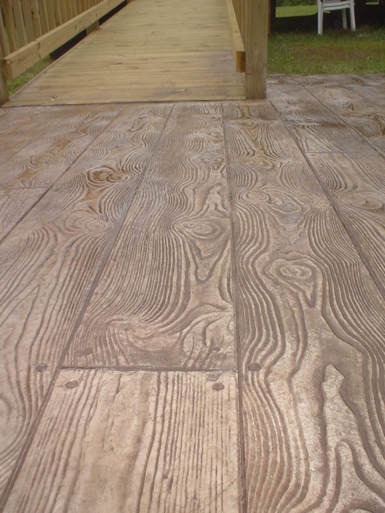 Stamped Concrete Colors Patterns Decorative Concrete Of