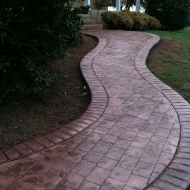 Cobblestone with Brick Border