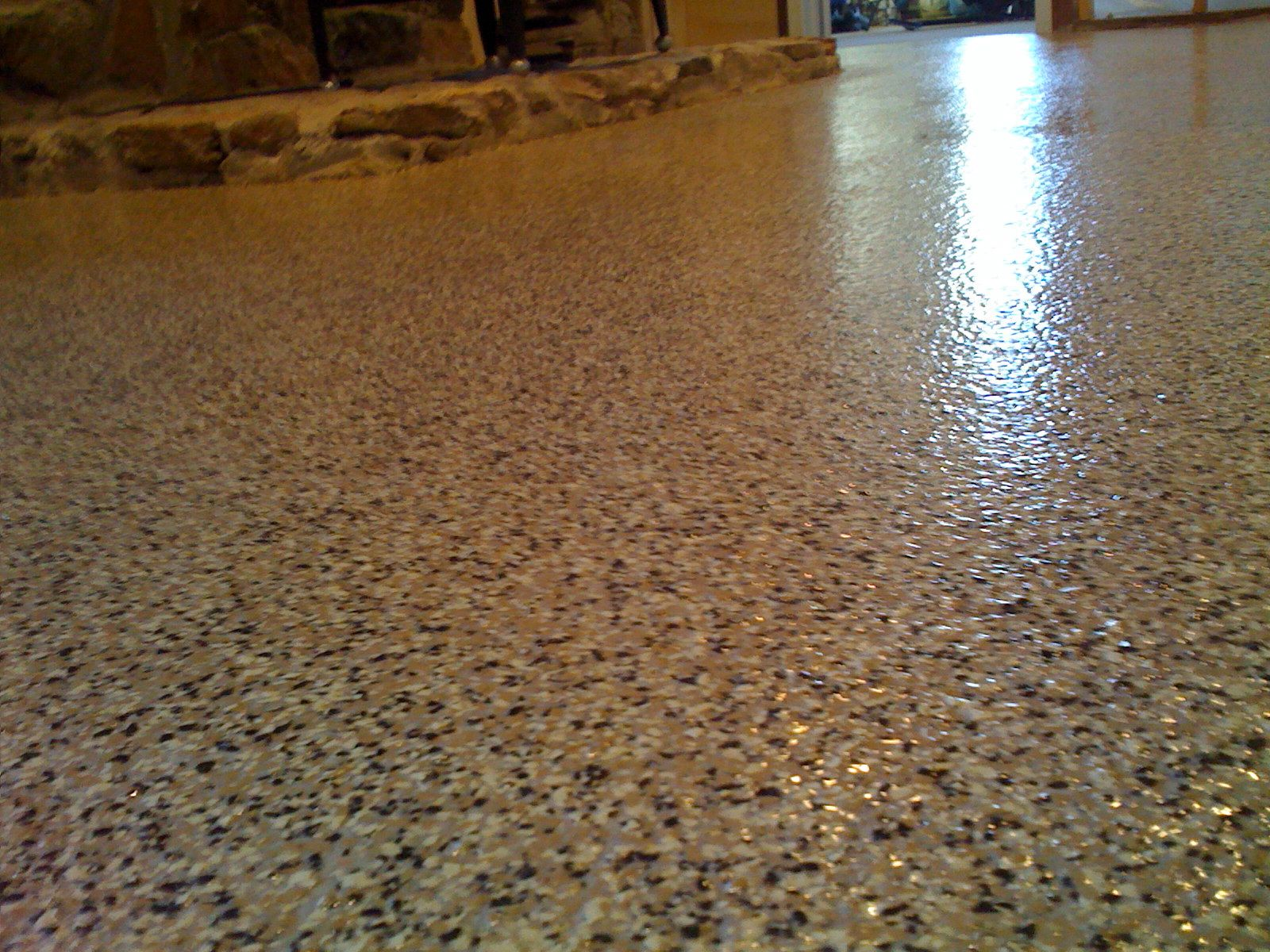 Comepoxy Floor Paint Concrete : Concrete Epoxy Floor Paint