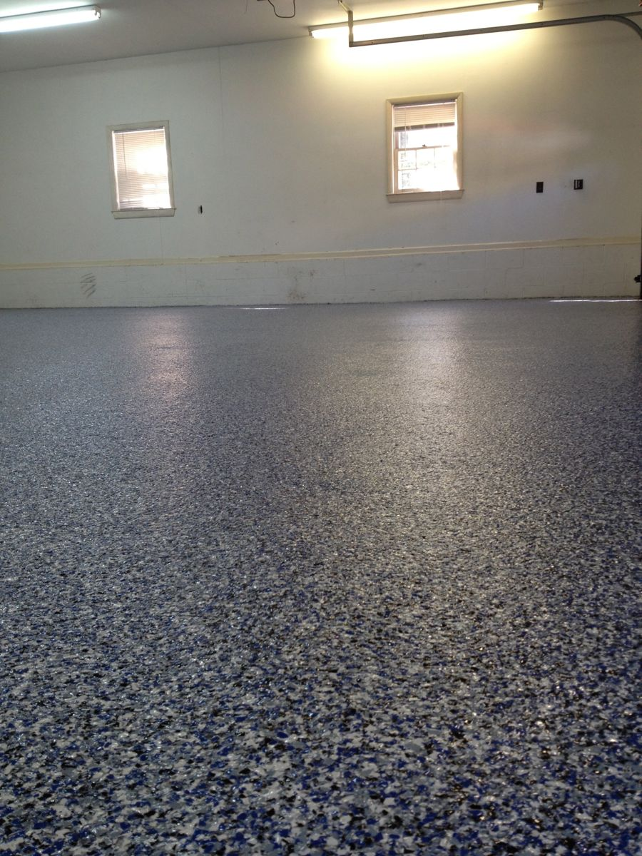 Vinyl Chip Epoxy Floor Epoxy Garage Floor Epoxy Coating