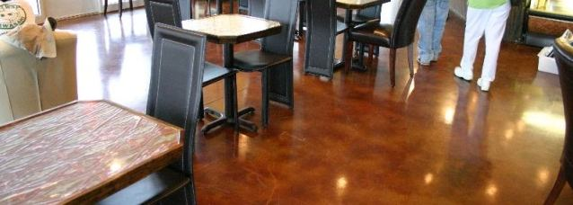 Stained Concrete in Virginia