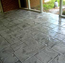 Stamped Concrete Overlay Concrete Restoration Decorative