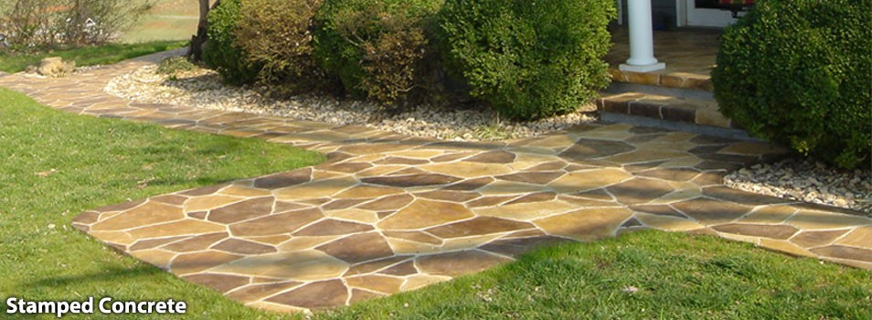 stamped concrete lynchburg, charlottesville, roanoke