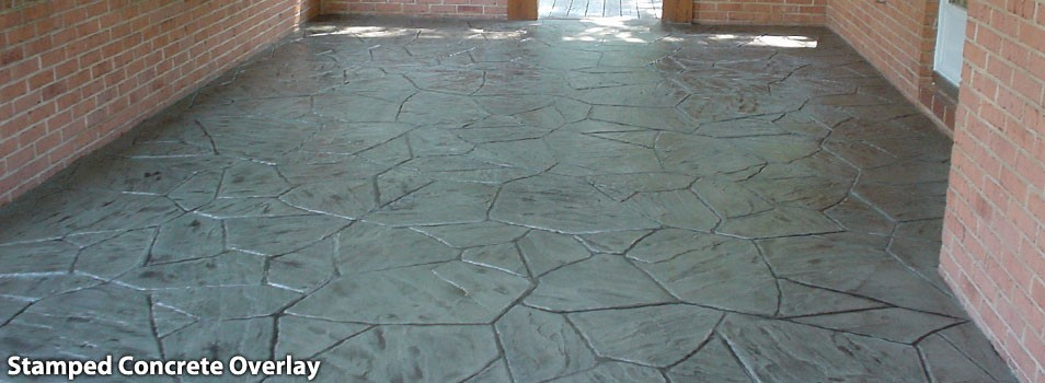 stamped concrete overlay virginia
