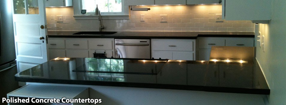 Polished Concrete Countertops Virginia