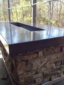 Polished Concrete Countertop 210