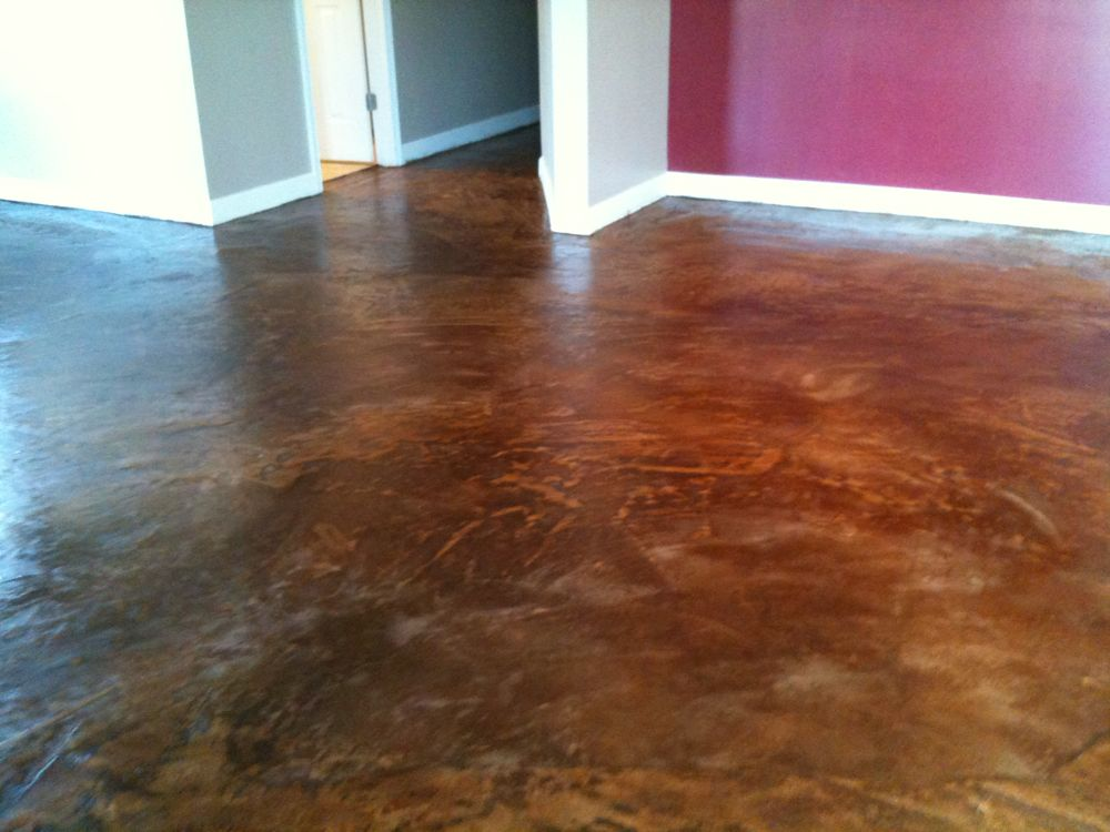 Concrete Overlay Flooring : Epoxy over tile design ideas