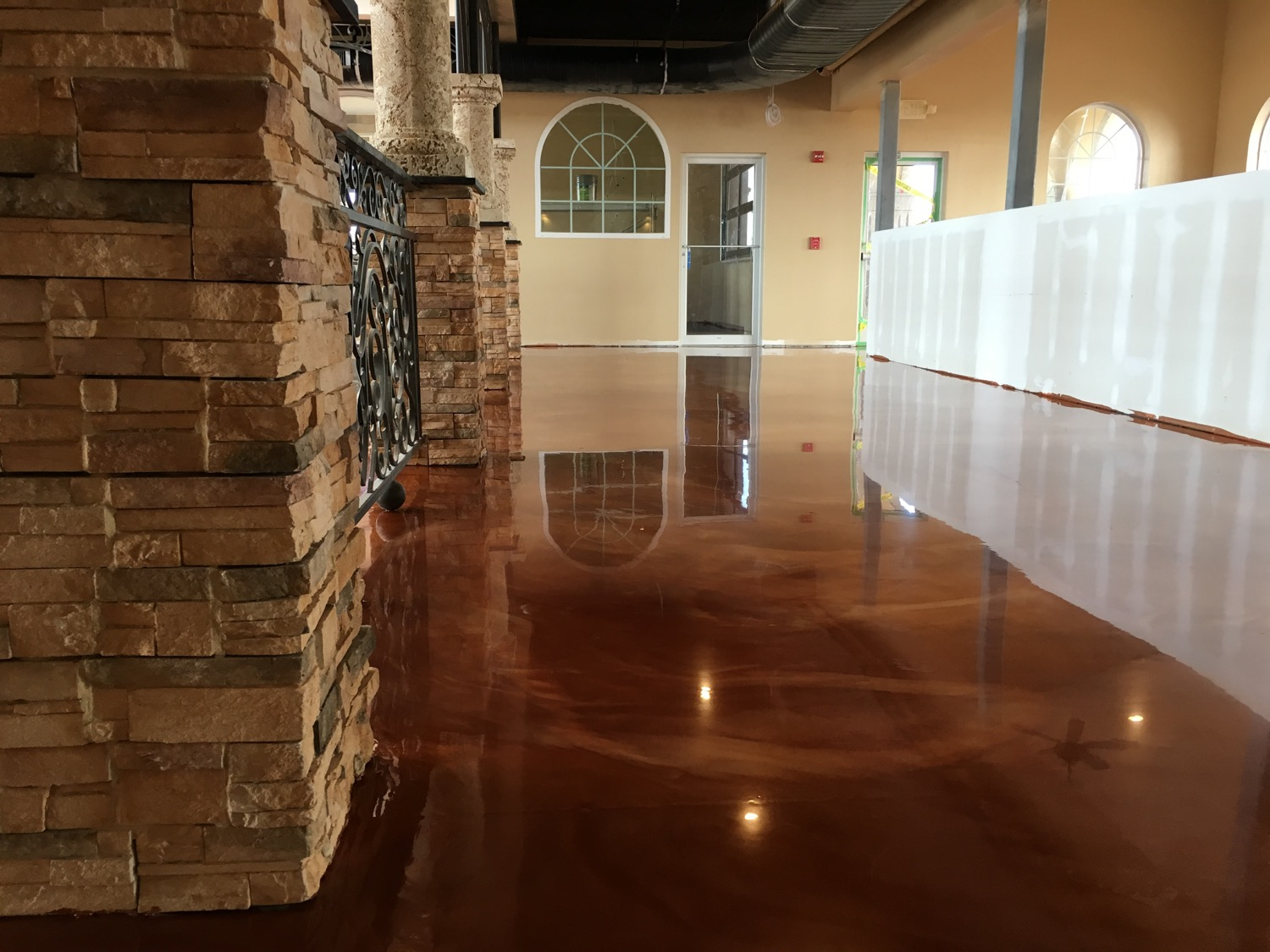 Metallic Epoxy Concrete Virginia