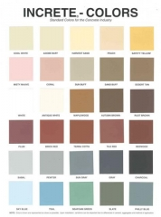 increte_color_chart