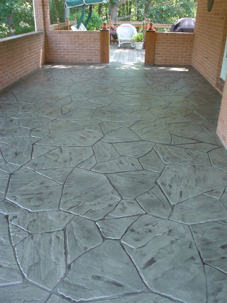 Connect The Colors >> Stamped Concrete Overlay, Concrete Restoration :: Decorative Concrete of Virginia
