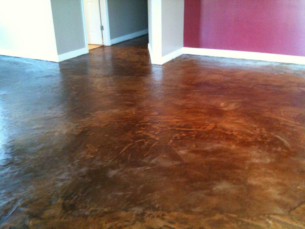 Concrete floor over tile installation gurus floor for Cement tile installation