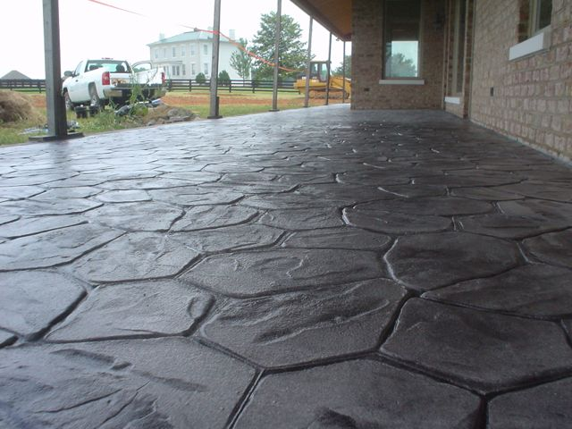 Stamped Concrete Overlay Concrete Restoration